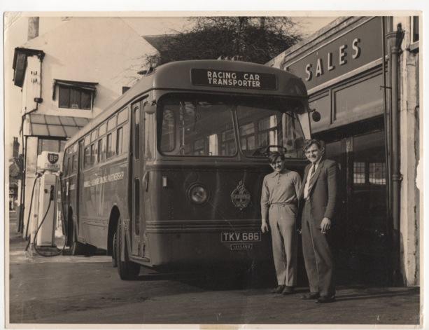 Gerry Ashmore Bus