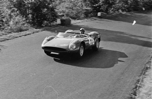 In 1965 Hans raced for Abarth in the European Hill Climb Championship at Cesana-Sestriere.