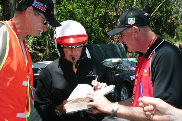 One of Murray's great fan bases was Australia. He is seen competing on Classic Adelaide rally in 2004.