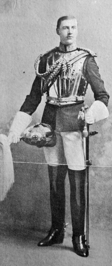 Andrew Fletcher in his uniform