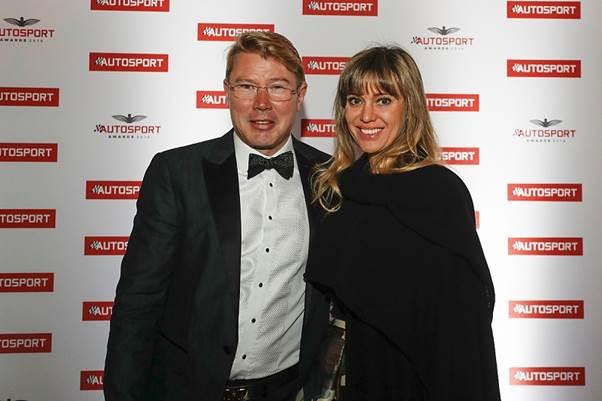 Mikka Hakkinen Photo courtesy Autosport Magazine