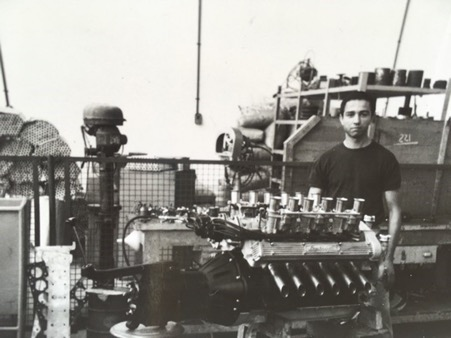 Jo during his period at Lamborgini. ( Ramirez Archives)
