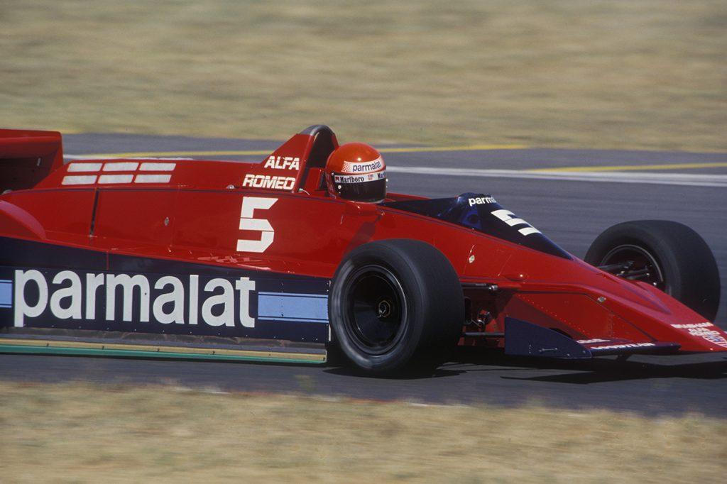 Niki Lauda (Brabham-Alfa Romeo) in the 1979 Argentina Grand Prix in Buenos Aires. Photo: Grand Prix Photo