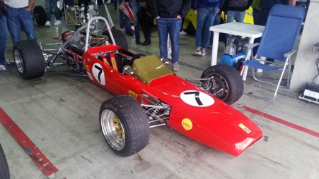 TN ( Tazio Nuvolari) Formula Junior car