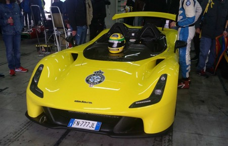 The new Dallara road car