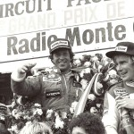 Paul Andretti, James Hunt, Ronnie-Peterson