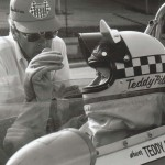Teddy Pilette at the Indy Car Rookie Test 1978