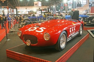 "This ""Burano"" commissioned by ""Toulo"" for the film ""The Racers"" was actually a Ferrari 212 Export remodelled"