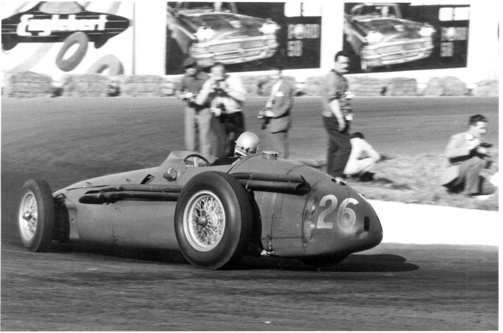 At the Belgian Grand Prix in 1958 Maria-Teresa finished 11th in her 250F