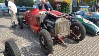 "The ""winner"" of the Sunday retro show: This ex Goffredo Zehender 1929 Alfa Romeo 6C 1750"