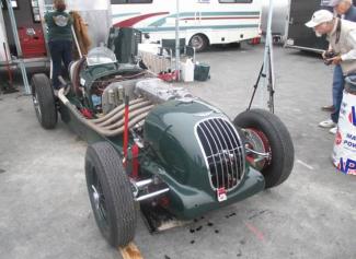 Jan Voboril's Alta chassis 53S at Laguna Seca.(Photo Howden Ganley)