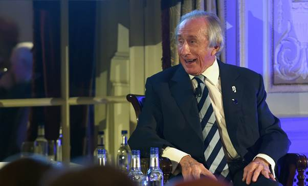 Sir Jackie Stewart remembers the amusing times he had with Jim Clark. (RAC Photo)
