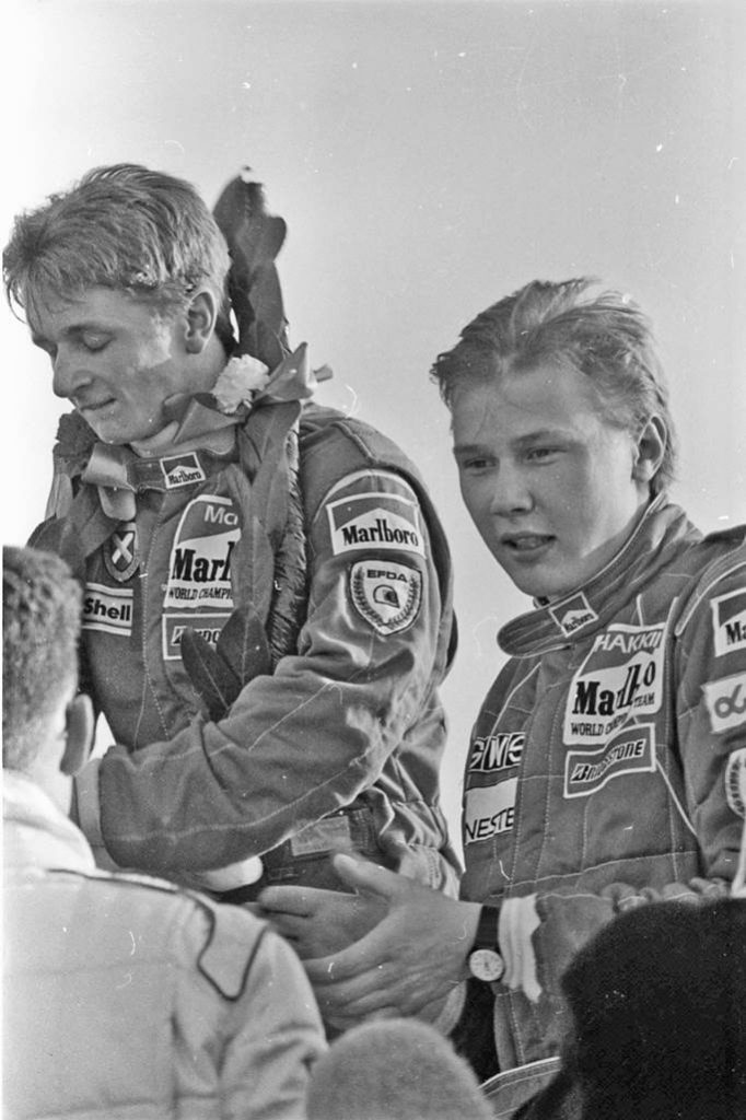 Thirty years ago, Thruxton, Allan McNish and Mika Hakkinen first and second in the inaugural Formula Vauxhall Lotus Championship race