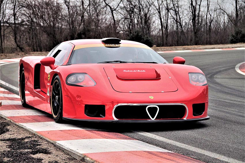 The prototype in testing earlier this year. (Photo courtesy Roberto Motta)